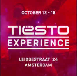 Tiësto Experience at Just Brands Stores - Amsterdam, october 12 - 18, 2015