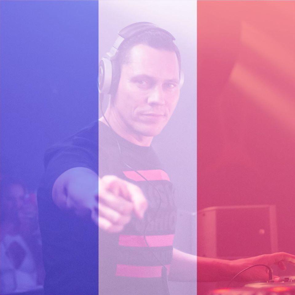 Merci à Tiësto et tous les artistes pour leurs soutiens à la France