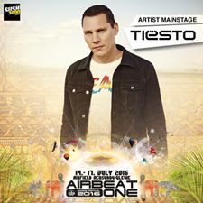 Tiësto photo | Airbeat One Festival | Neustadt-Glewe, Germany - july 15, 2016