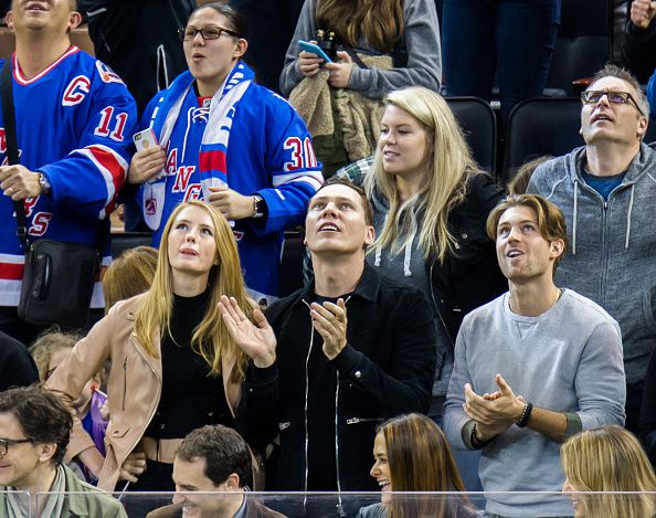 Photos Tiësto and Annika Backes at Madison Square Garden - March 13, 2016