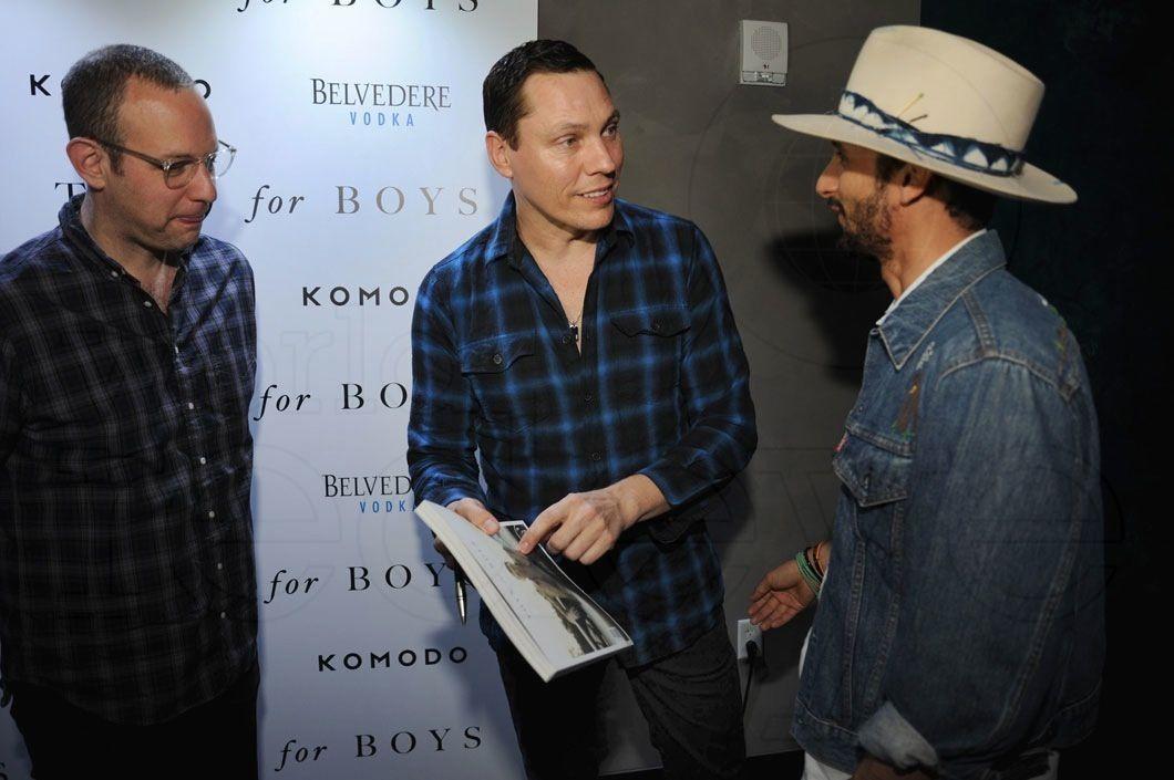 Photos Tiësto at Komodo (Miami) for Toys for Boys magazine