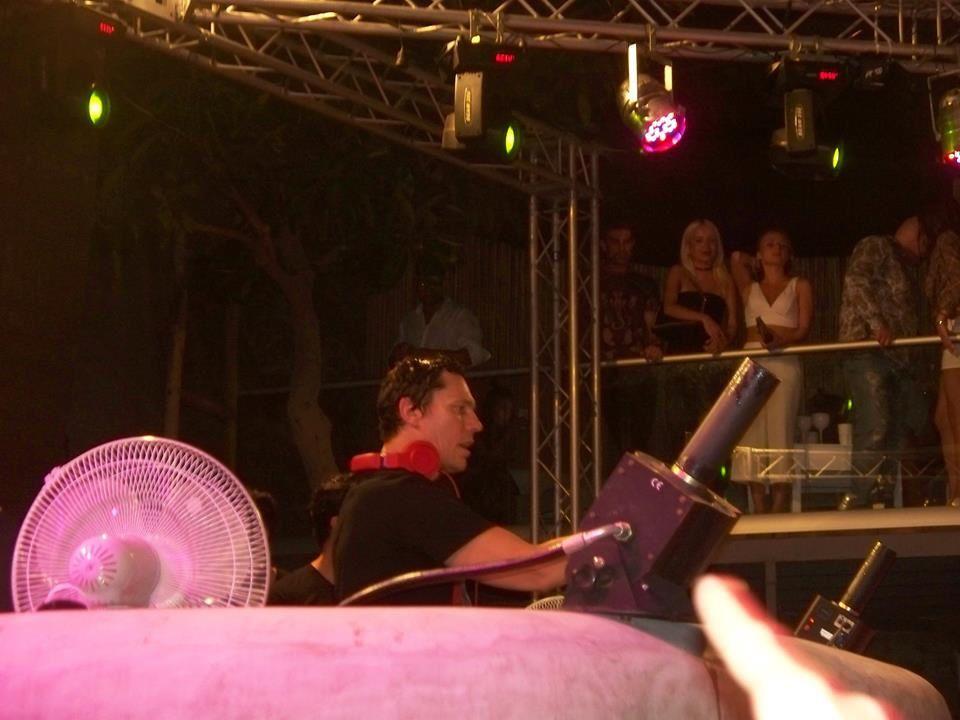 Tiësto Photos | Paradise Beach Club | Mykonos, Greece - August 03, 2016