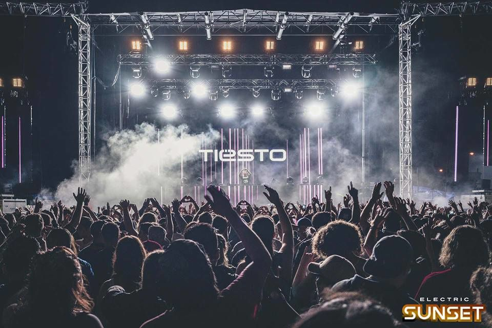 Tiësto photo | Electric Sunset Festival | Winnipeg, Canada - August 19, 2016
