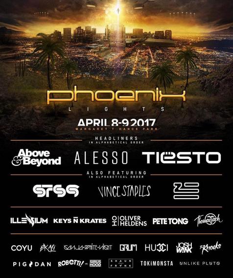 Tiësto photos | The Phoenix Lights Festival | Phoenix, AZ - April 08, 2017