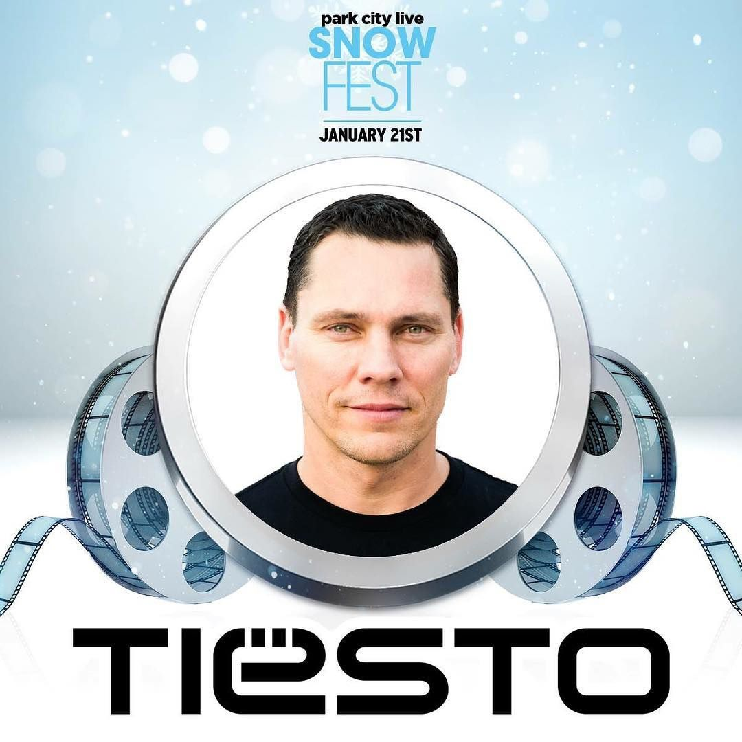 Tiësto photos | Snow Festival | Park City, UT - January 21, 2017