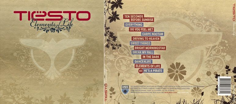 Tiesto Album, Elements of life | 10 Years !!! 2007 - 2017