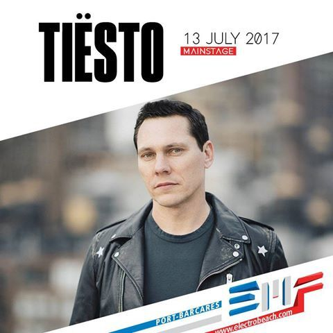 Tiësto photos & Interview vidéo | ElectroBeach | Port Barcares, France - july 13, 2017