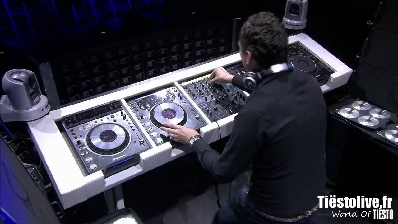 Tiësto video   DVD Elements of Life Tour 2007   4 hours  
