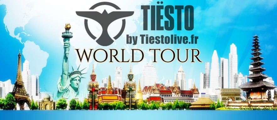 tiesto world tour concert date