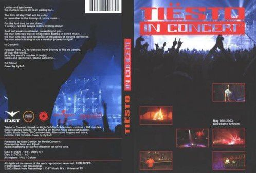 tiesto in concert dvd 2003