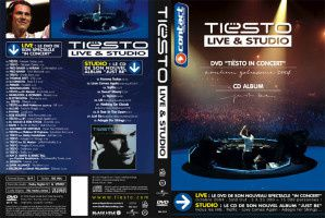 Tiësto DVD / CD: Live & studio