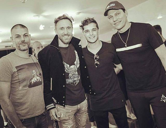 Martin Garrix and Guest... Tiësto at Hï Ibiza + photos with David Guetta August 28, 2017