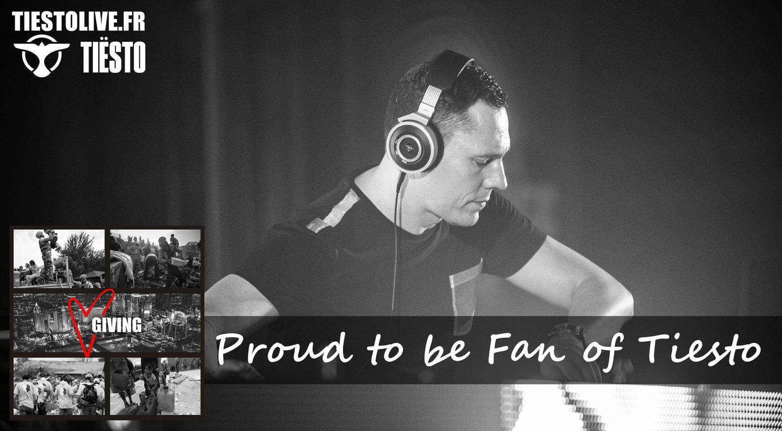 Tiësto - your donations are important !