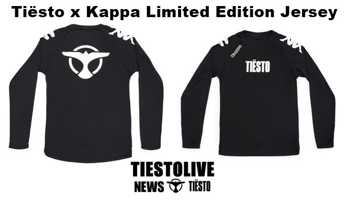 Tiësto & Kappa Limited Edition Jersey
