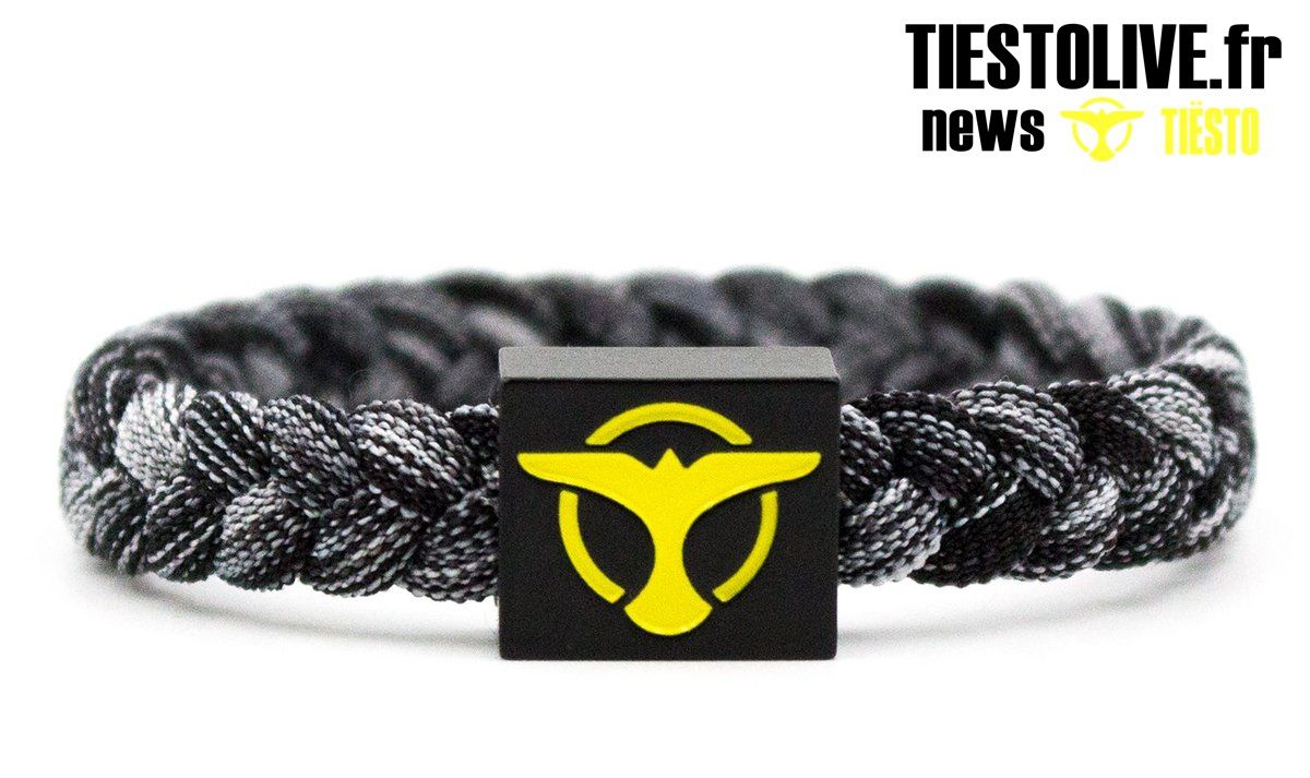 Shop Tiësto | charity bracelet