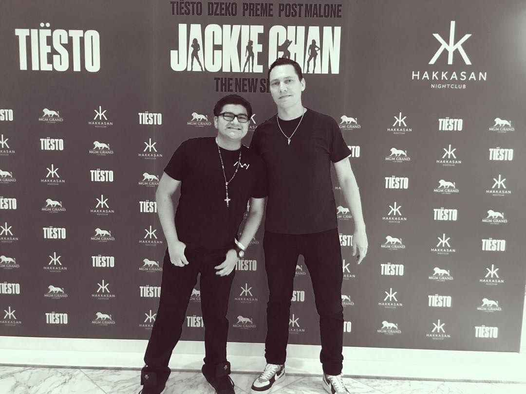 Photos and vidéos spécial meet Tiesto and Fans at MGM, Las Vegas - may 18, 2018