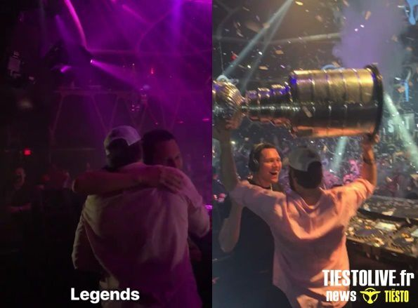 Capitals celebrate Stanley Cup with Tiesto at Hakkasan Las Vegas - june 07, 2018