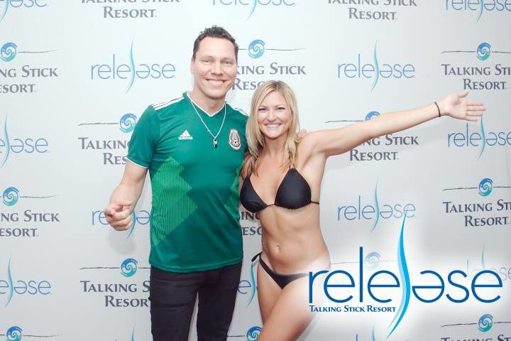 Tiësto photos, vidéo | Release Pool Party at Talking Stick Resort | Scottsdale, AZ - june 23, 2018