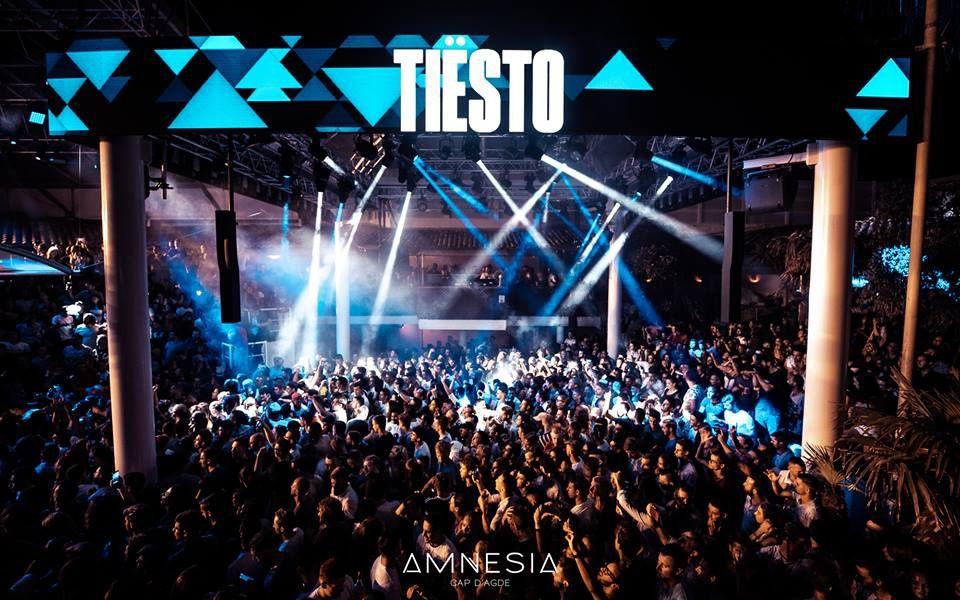 Tiësto photos, vidéo | Amnesia | Cap D'Agde, France - August 02, 2018 #Tiesto #Amnesia