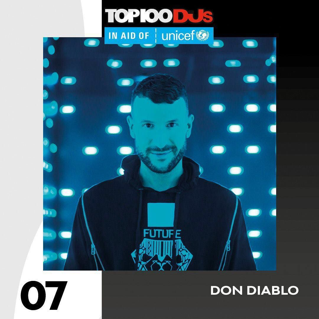 Top 100 Dj Mag 2018 07 - Don Diablo