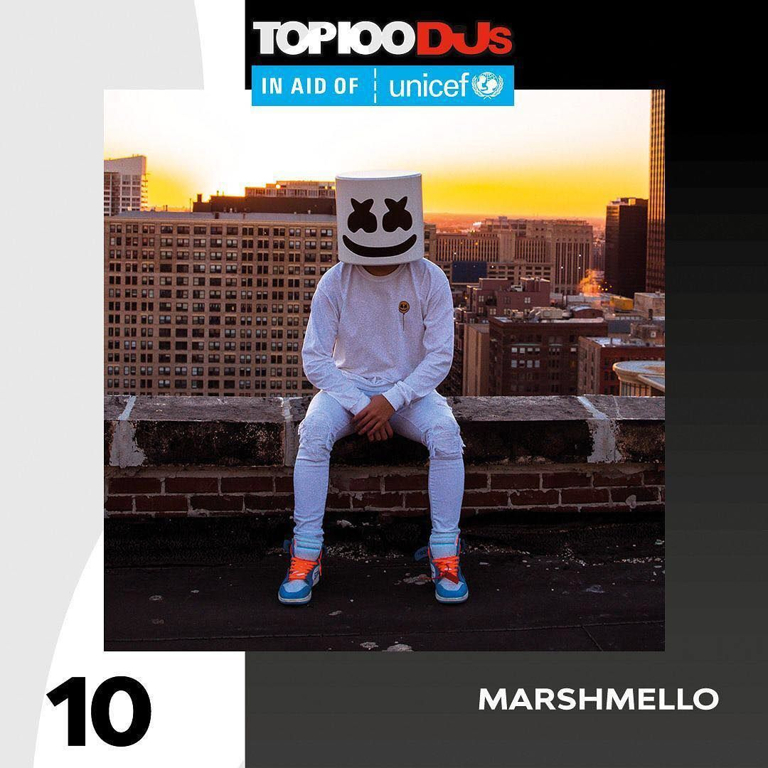 Top 100 Dj Mag 2018 20-29 marshmello