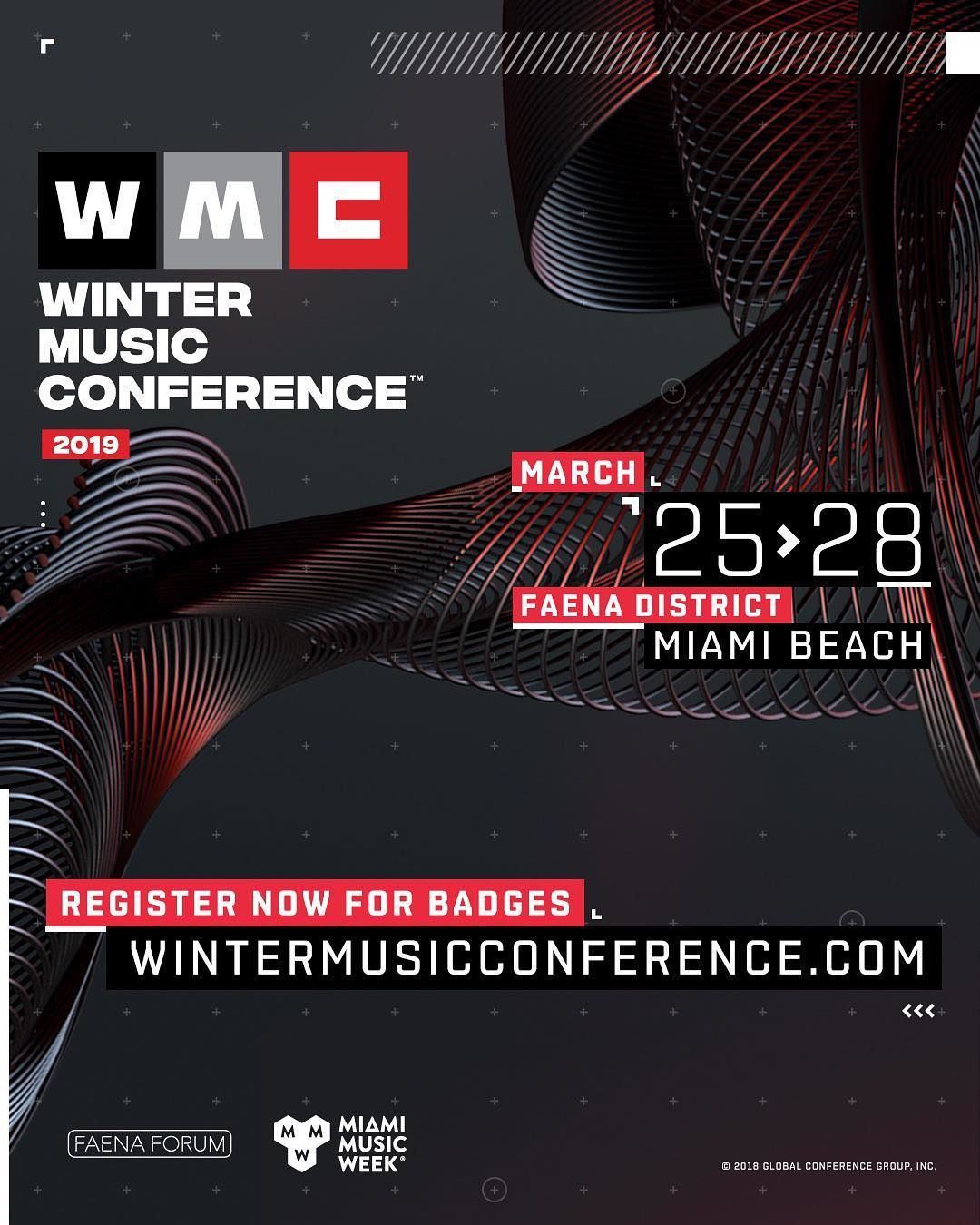 Winter Music Conference will return to Miami Beach next March