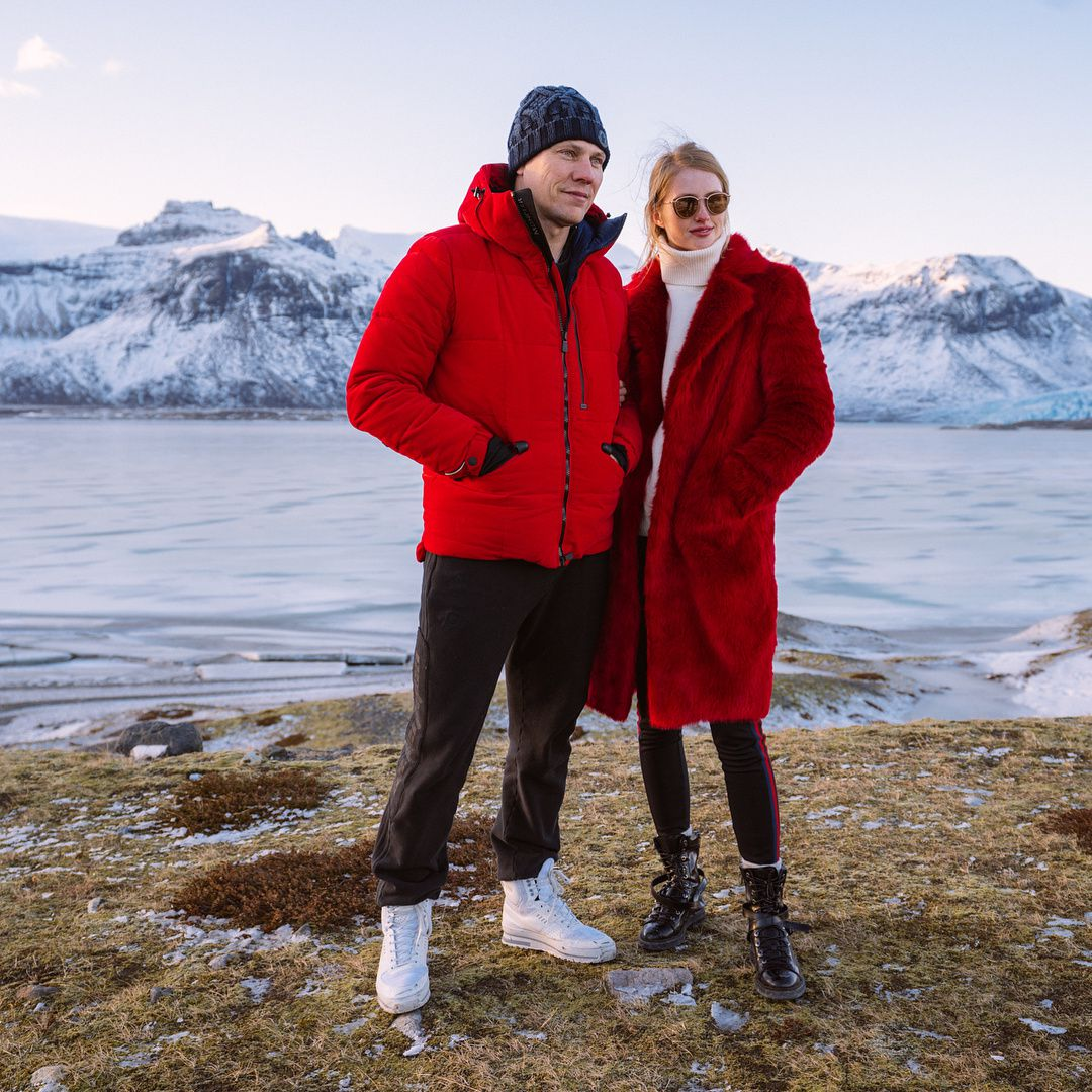 Tiësto and Annika: Throwback to Iceland ❄️ one of the coolest trips we have done.