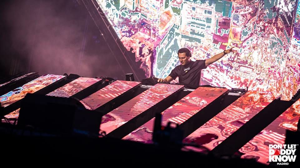 Tiësto photos   Don't Let Daddy Know   Madrid, Spain - december 08, 2018