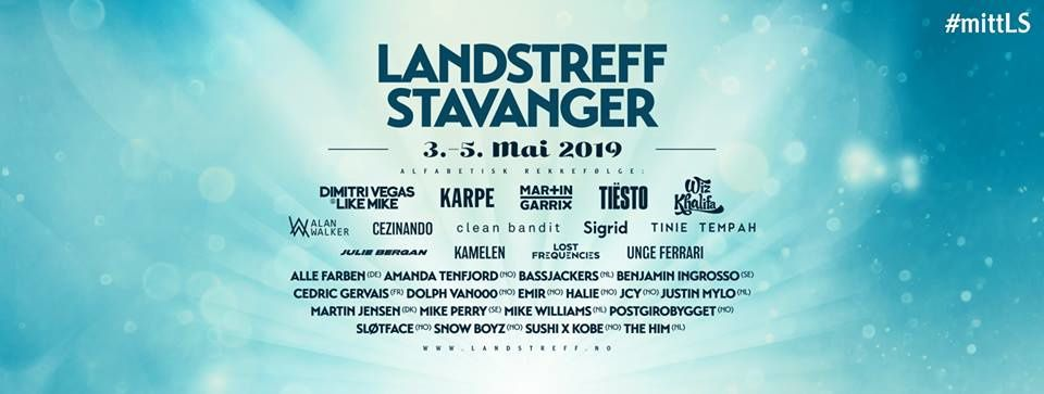 Tiësto photos, vidéo |  Landstreff Stavanger |  Stavanger, Norway - May 03, 2019