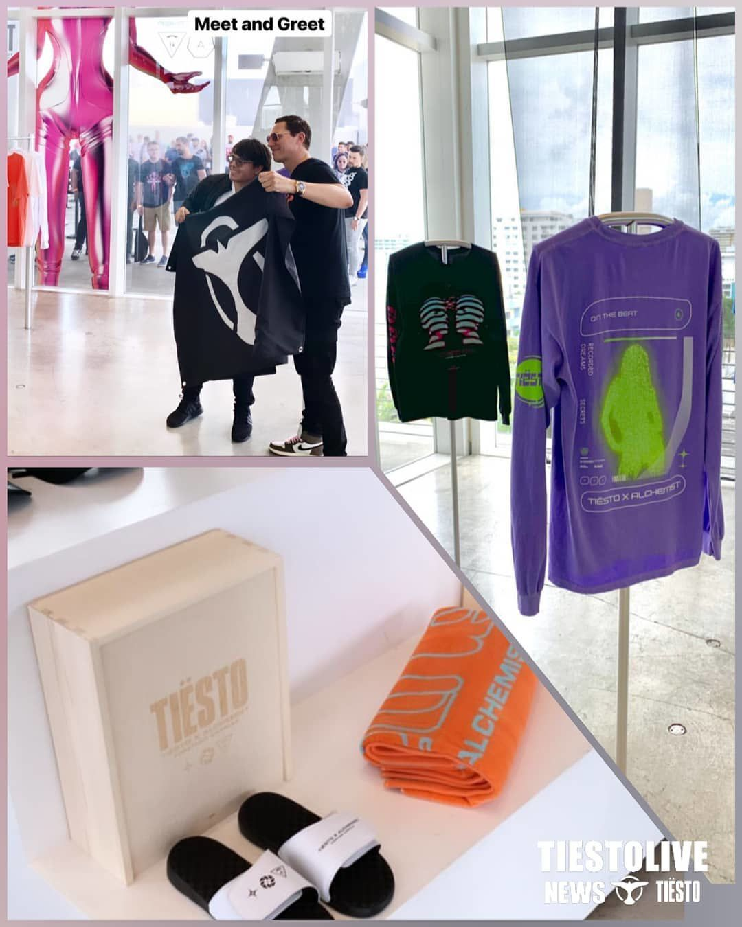Tiësto x Alchemist | pop-up shop | in Miami - march 29, 2019