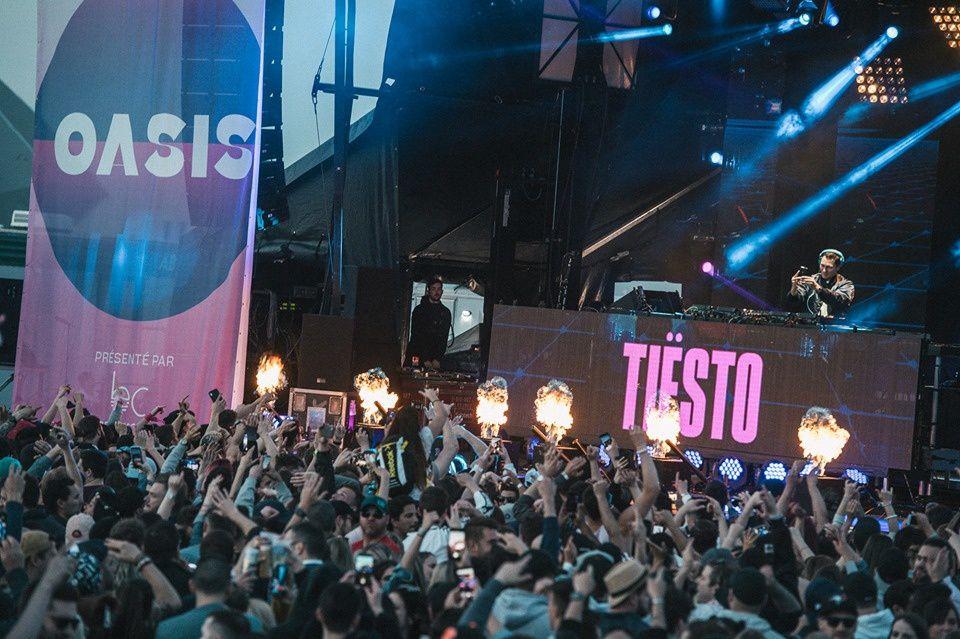 Tiësto photos, vidéo | Oasis | Montréal, Canada - May 31, 2019