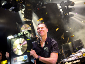 Tiesto Certified GOLD by the RIAA In The U.S - Tiësto - Wasted  & Tiësto - Red Lights