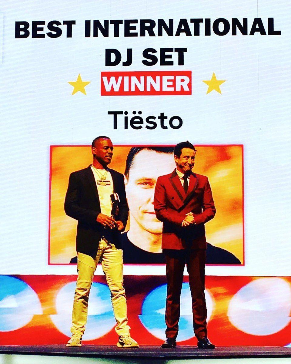 Tiësto Time Out Dubai Music & Nightlife Awards 2017 - Best International Dj Set