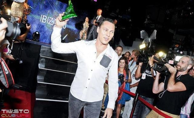 Tiësto Dj Awards Ibiza 2012 | Best Dj Electro-House