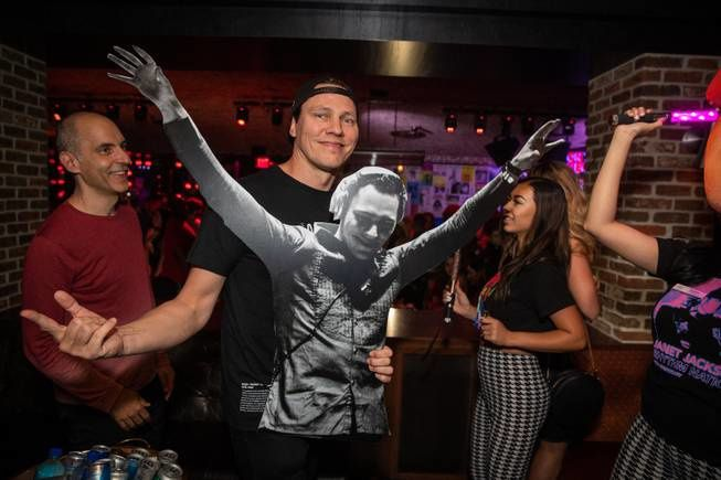 Tiësto celebrated his bachelor party at Park MGM's On the Record - August 2, 2019, wedding coming