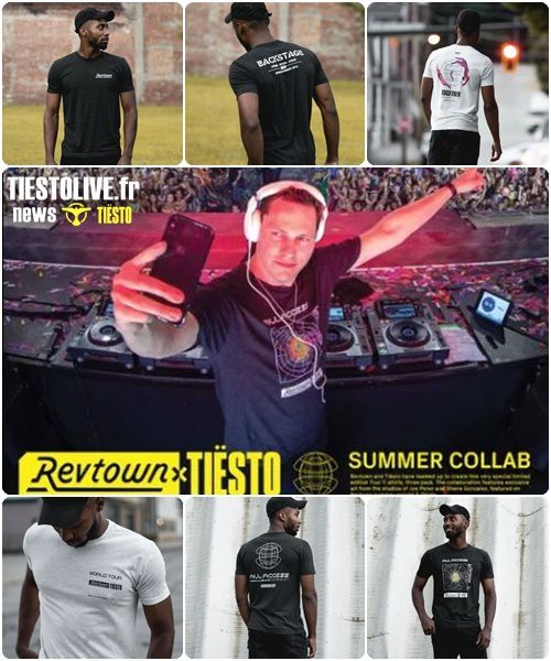 Tiësto shopping with Revtown