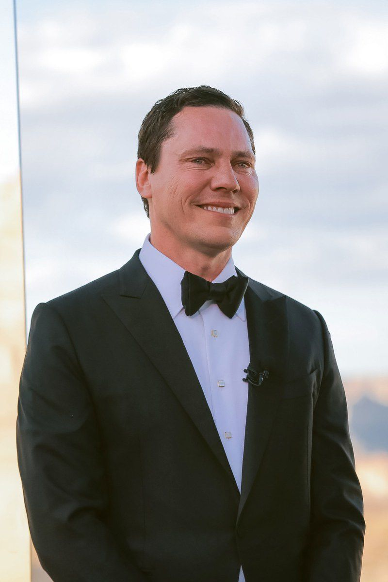 Tiësto and Annika are married | photos and vidéos