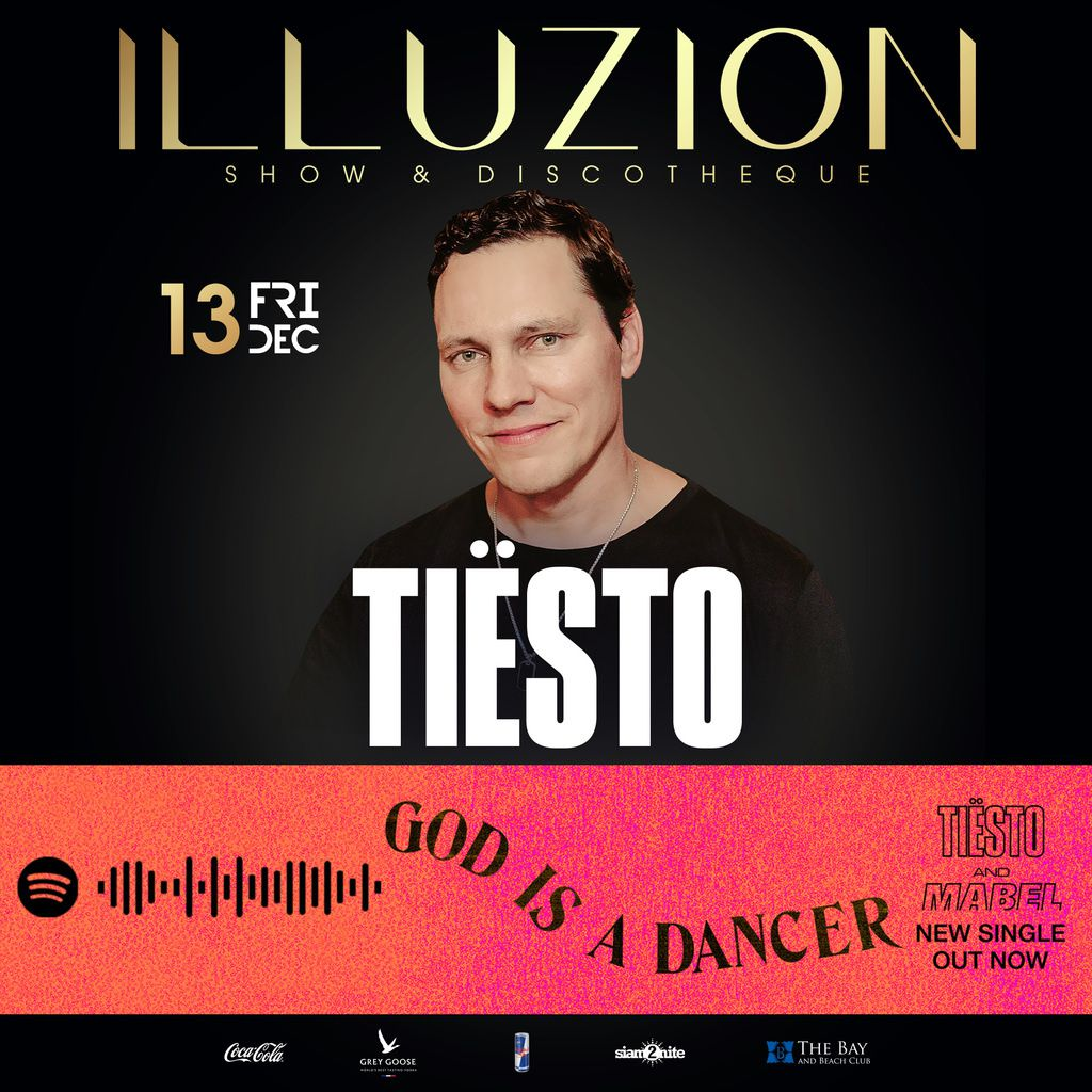 Tiësto date | illuzion | Phuket, Thailand - december 13, 2019