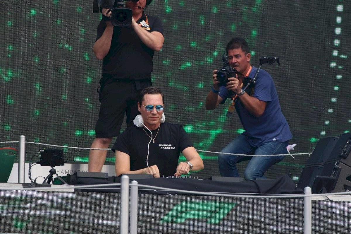 Tiësto photos, vidéo, tracklist, mp3 | Grand Prix of Mexico | october 27, 2019