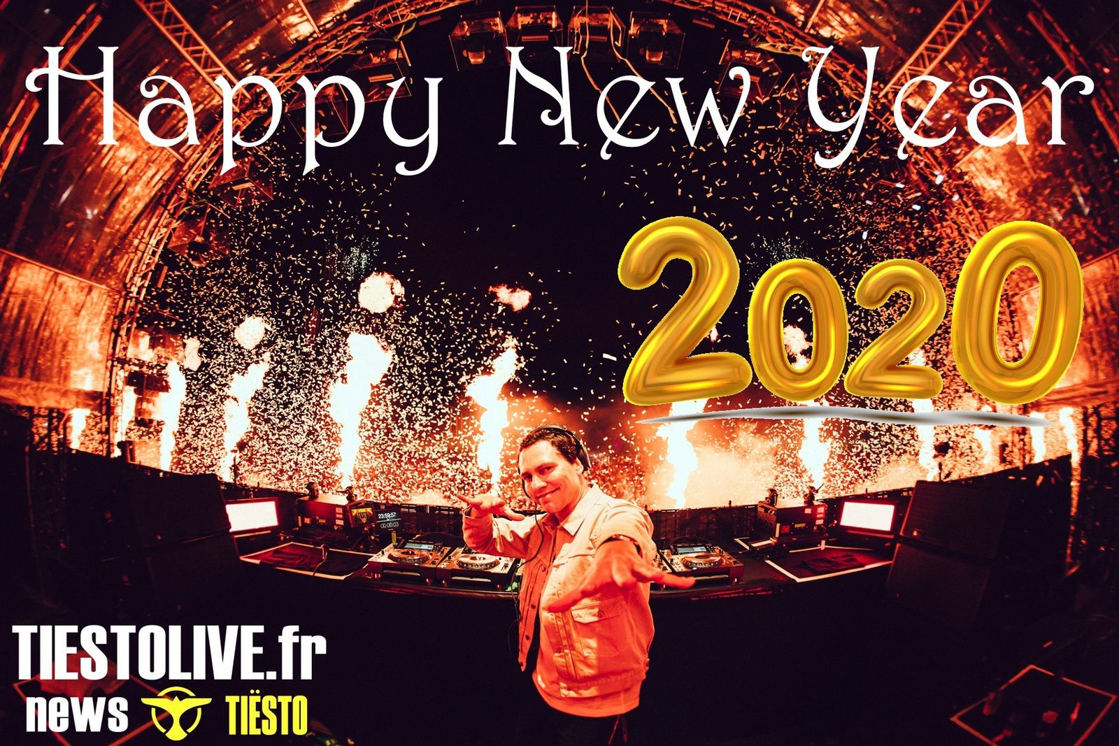Happy New Year, Tiësto fans of the world