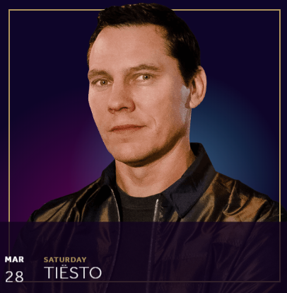 Tiësto date | Hakkasan | Las Vegas, NV march 28, 2020