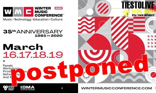 ⚠ Winter Music Conference 2020 in Miami postponed due to coronavirus ⚠
