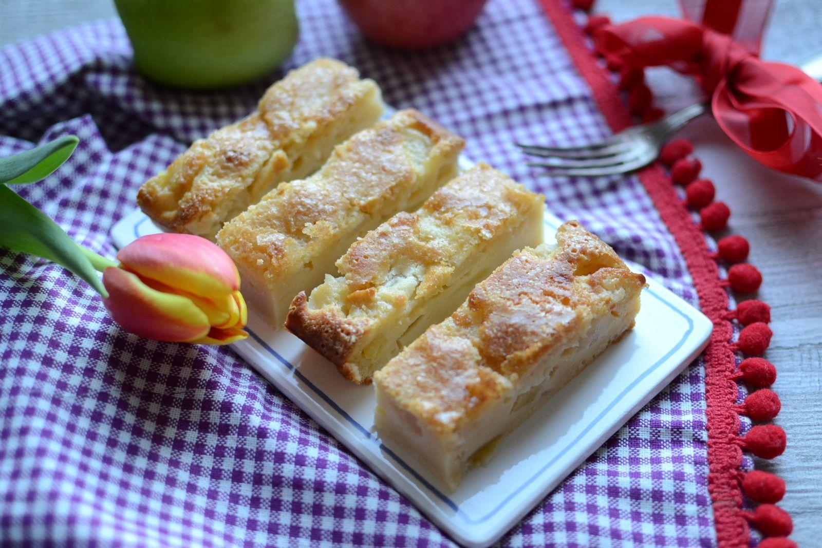 Gâteau moelleux pomme poire