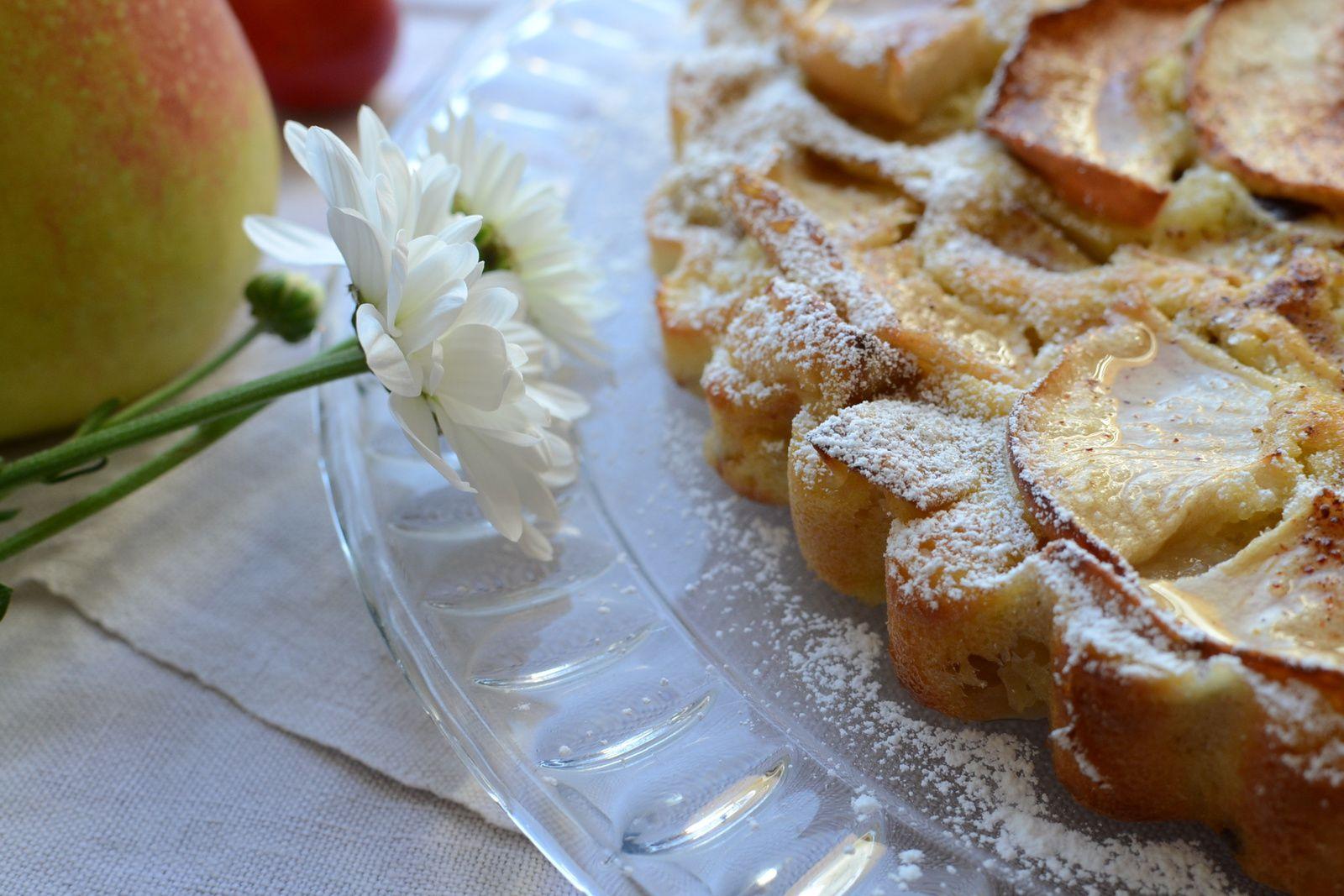 Gâteau très pomme
