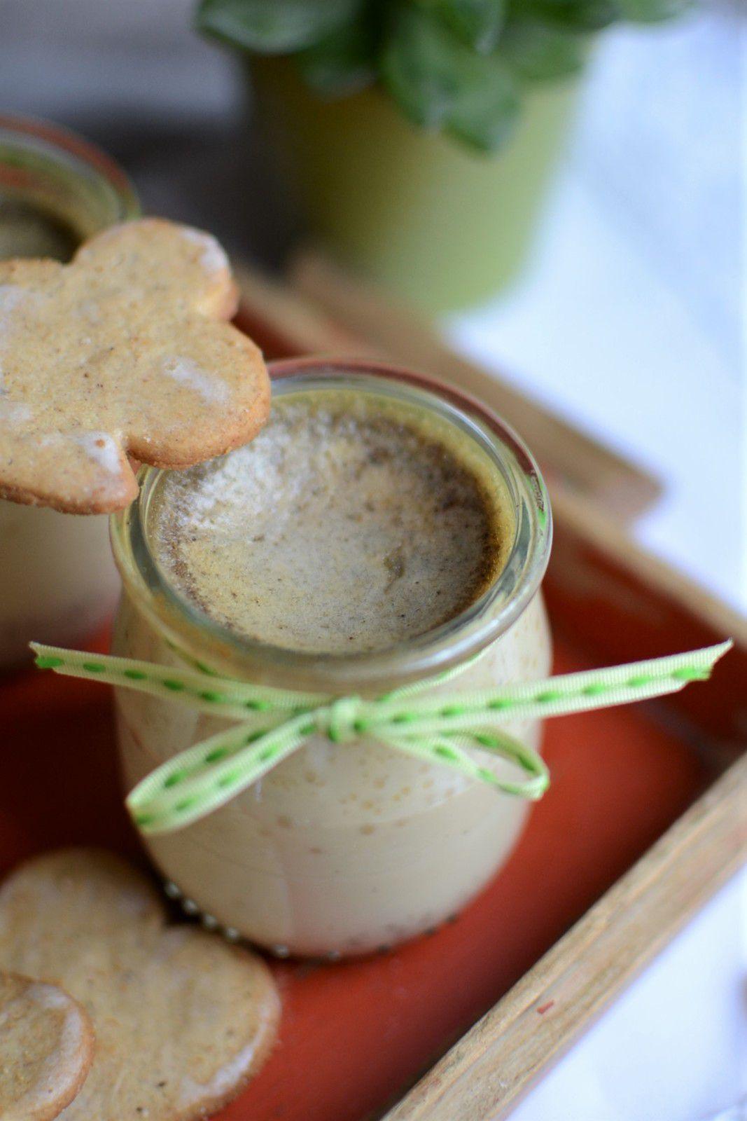 Petits pots de crème aux oeufs biscuits sablés Fortwenger #partenariat