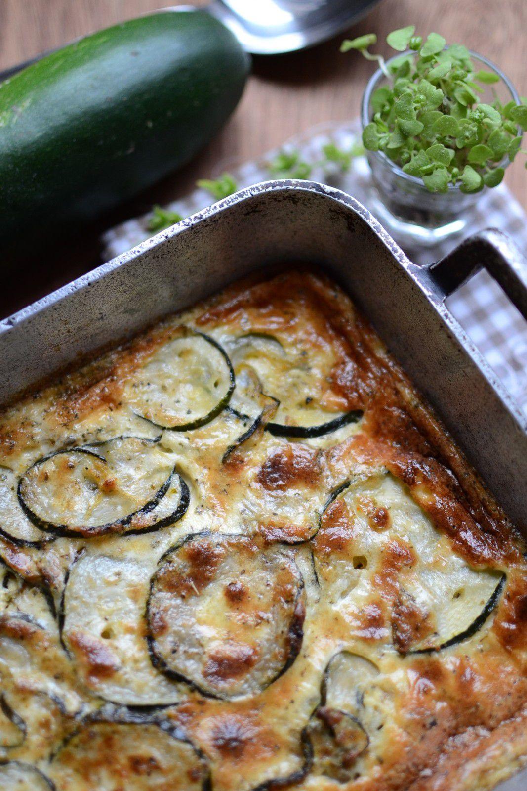 Gratin de courgettes de Doria #végétarien