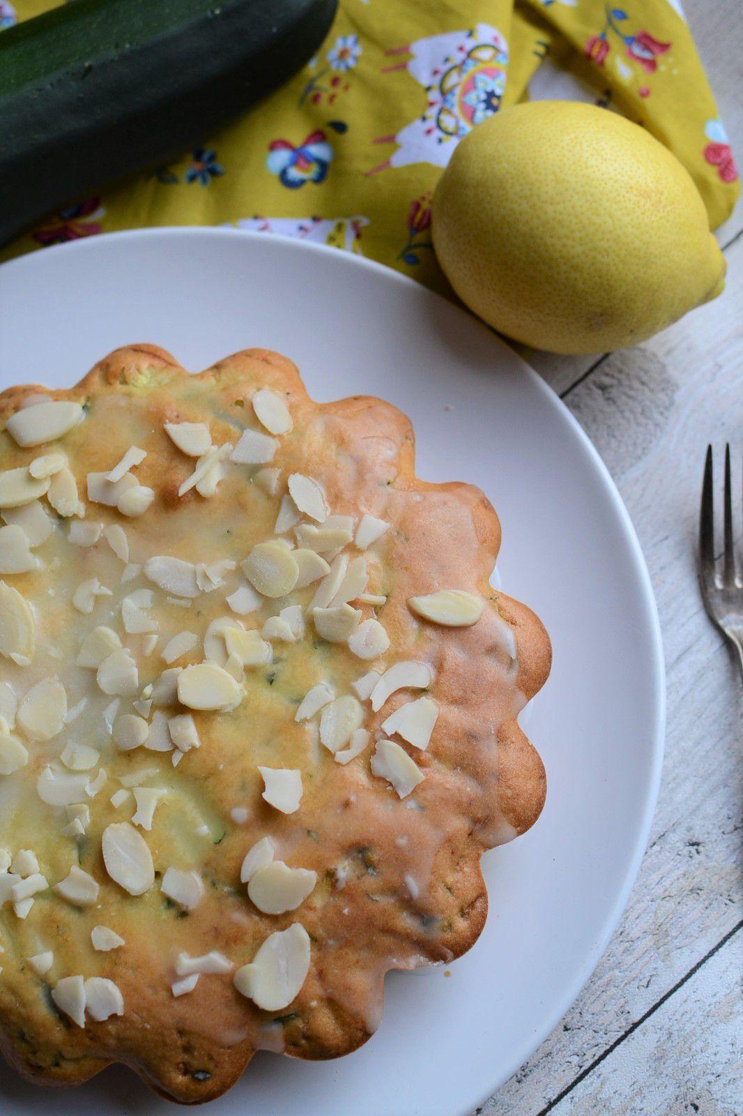 Gâteau à la courgette et citron