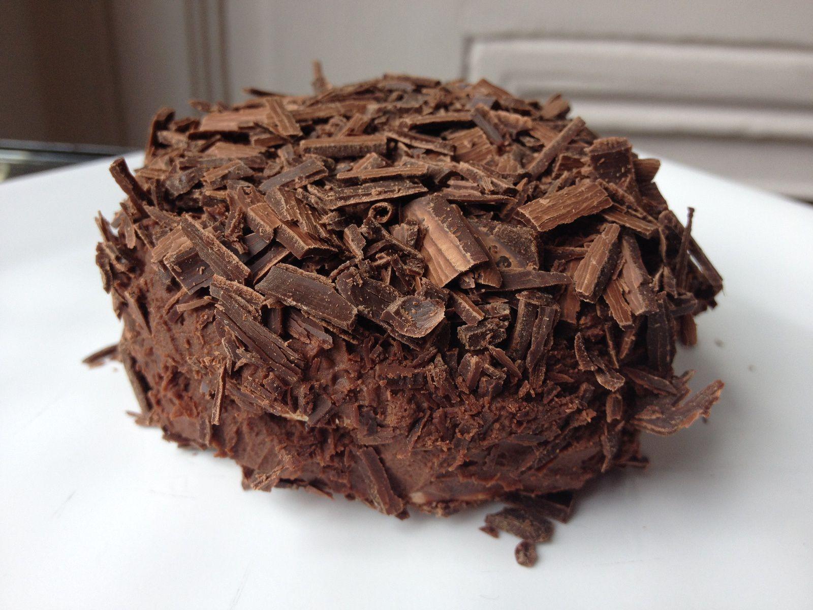 Merveilleux au chocolat, version chocolat noir pour mes 5 ans!!!