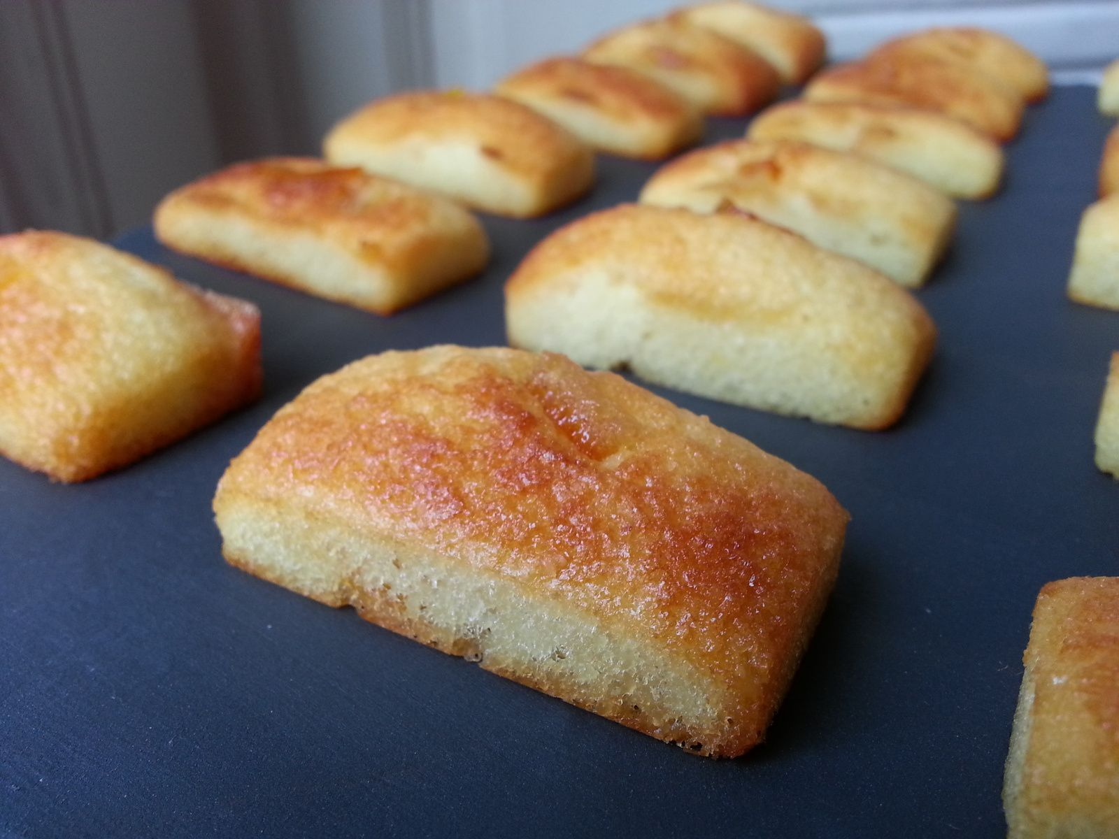 Financiers amandes / oranges confites