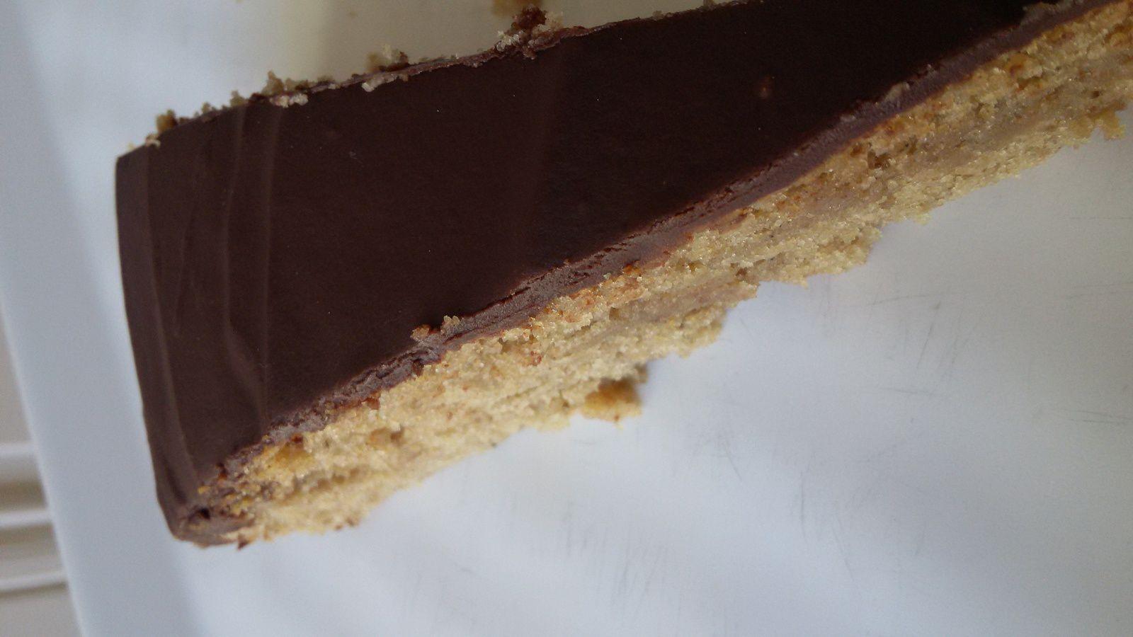 Gâteau moelleux aux marrons